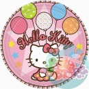 Тарелки Hello Kitty 22,86см 8шт