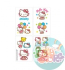 Татушки Hello Kitty, 1 лист, 16 тату